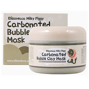 Маска Elizavecca milky piggy carbonated bubble clay mask