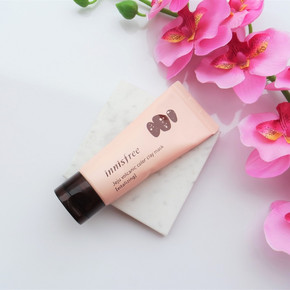 Розовая маска оживление innisfree volcanic color clay mask vitalizing pink Innisfree