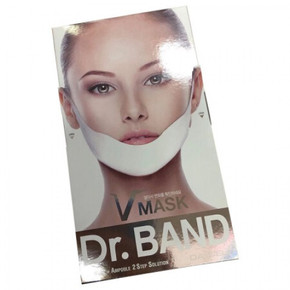 DAYCELL Dr Band Hydrogel Collagen Ultra Lifting Mask Anti Wrinkle V line подтягивающая маска