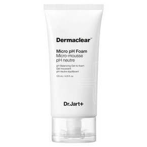 Гель-пенка для умывания Dr.Jart+ Dermaclear Micro pH Foam Micro-Mousse pH Neutre Balancing Gel-to-foam