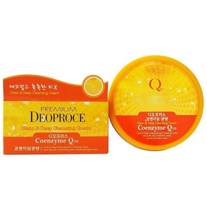 Premium Deoproce Cleen and Deep Coenzyme Q10 Cleansing cream 300g
